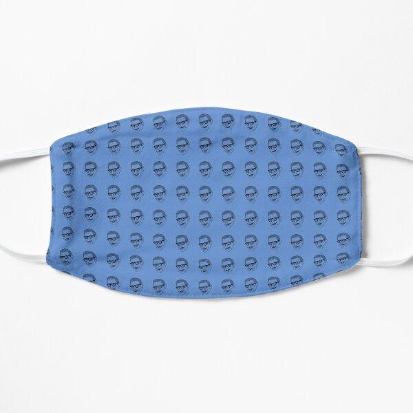 Jeff Goldblum Pattern Blue Mask