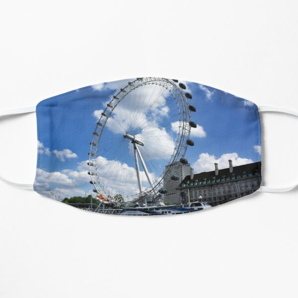 London Eye on a sunny day Mask