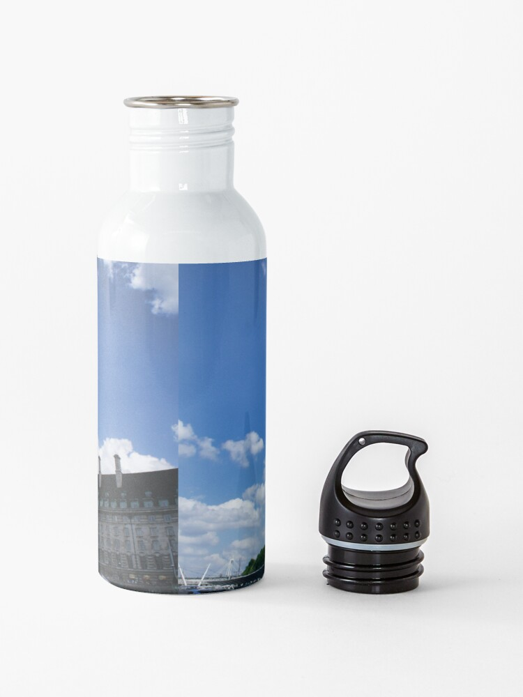 Alternate view of London Eye on a sunny day Water Bottle