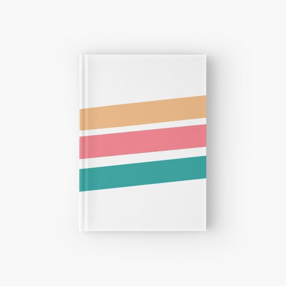 Vintage 3 stripes design Hardcover Journal