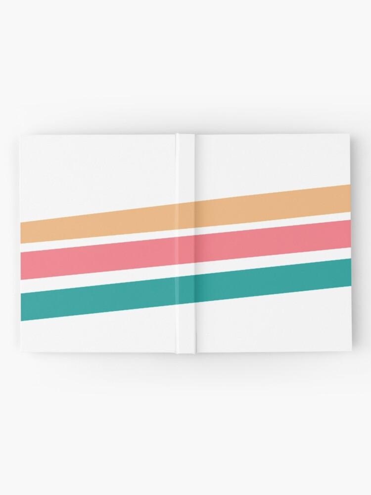 Alternate view of Vintage 3 stripes design Hardcover Journal