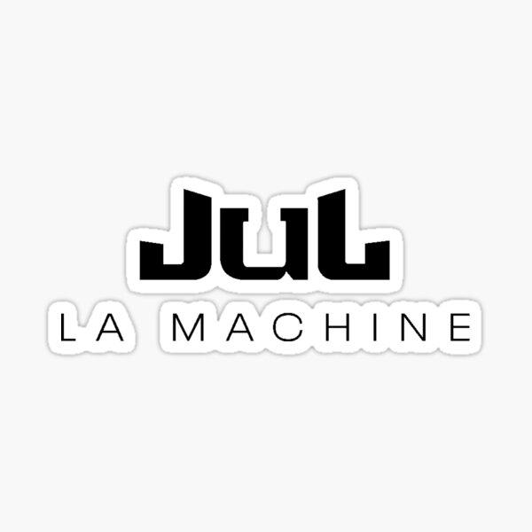 JUL La Machine Logo Noir Sticker