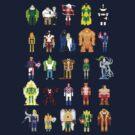 PIXELWORLD vol.1 - #HERO by designatius