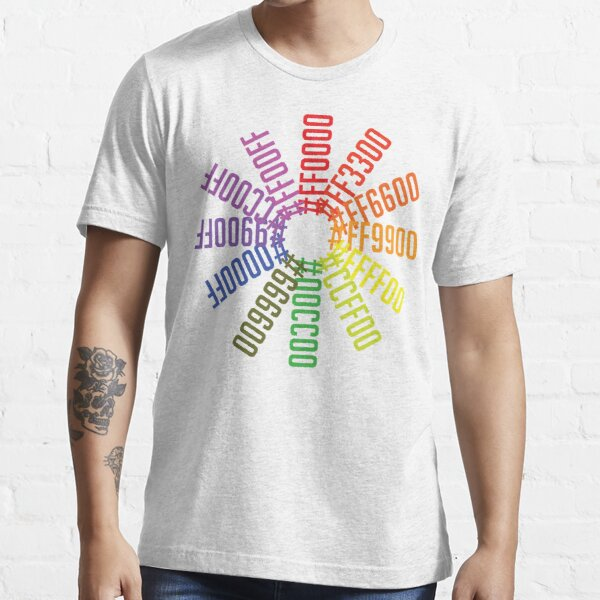 Hex color wheel Essential T-Shirt