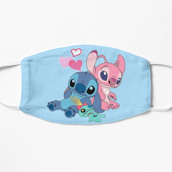 Stitch & Angel 2 Mask