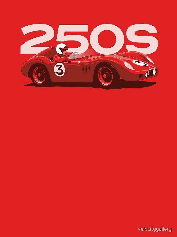 1950s Sportscar racer by velocitygallery