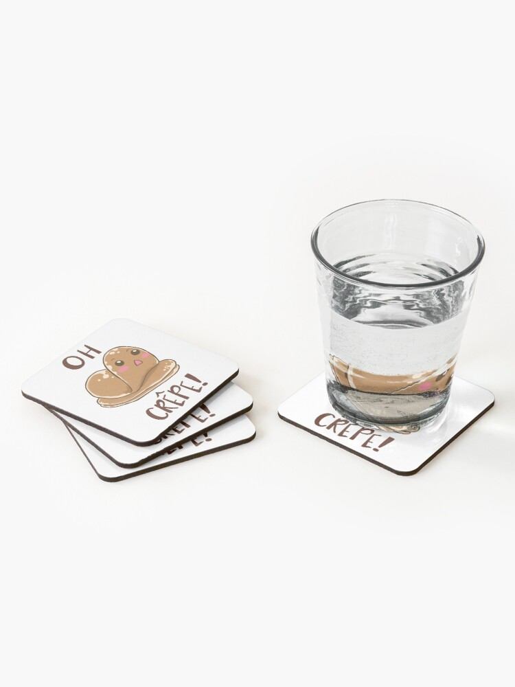 Alternate view of Oh Crepe! Coasters (Set of 4)