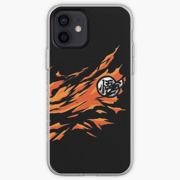Son goku-dragon ball Z iPhone Soft Case