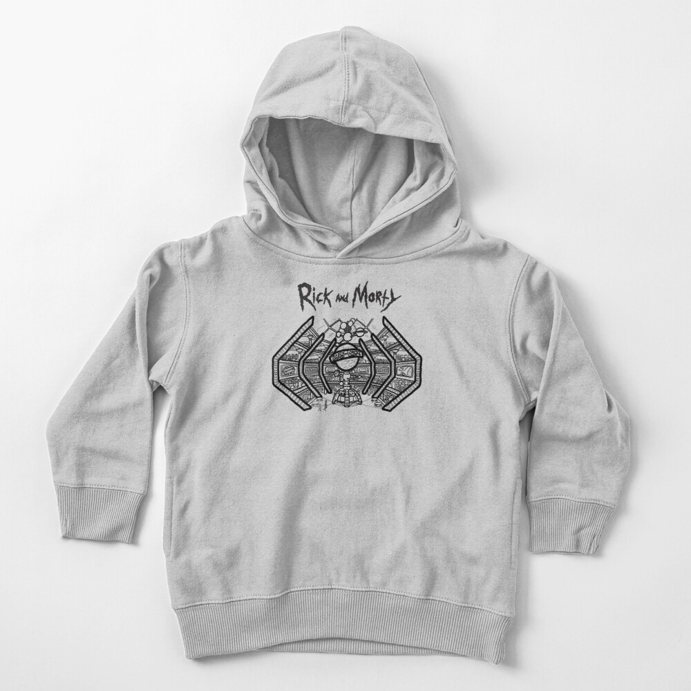 Blips and Chitz | Rick and Morty Arcade Toddler Pullover Hoodie