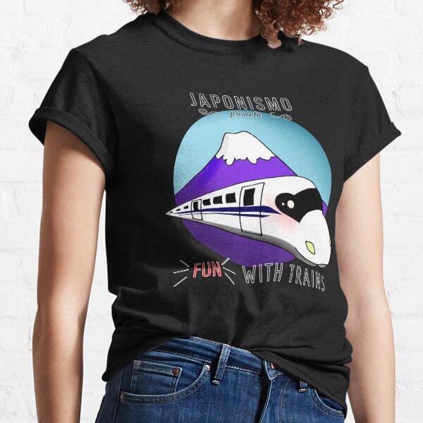 FunWithTrains: N700 - El regalo ideal para los aficionados a los trenes! Camiseta clásica