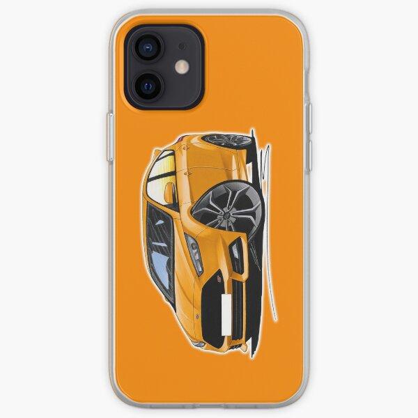 Ford Focus (Mk3 Facelift) ST Orange iPhone Soft Case