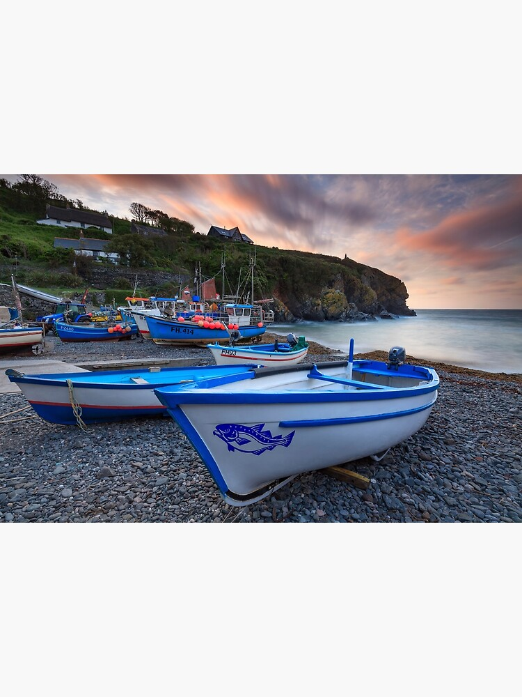 Boats at Sunrise (Cadgwith) by bitm2007