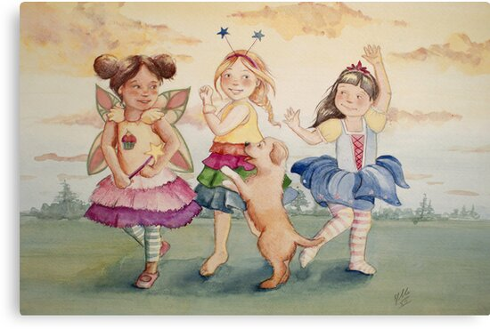 Dance-off by Sarah  Mac Illustration