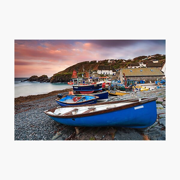 Cadgwith at Sunrise Photographic Print