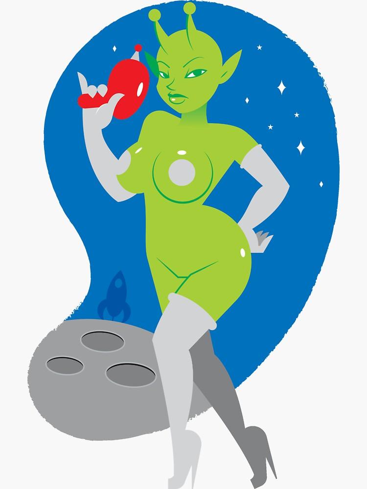 Alien Girl by penandkink