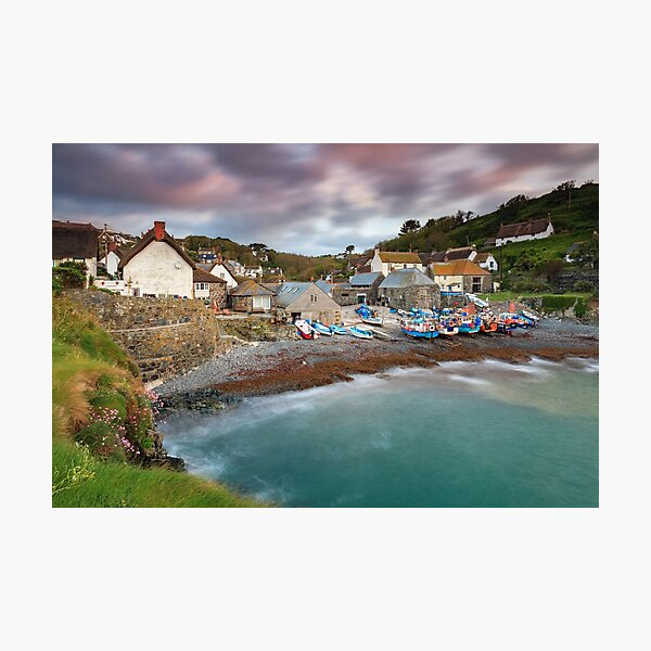 Cadgwith Harbour View Photographic Print