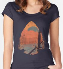 Autumn in the Gorge... Women's Fitted Scoop T-Shirt