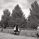 Hanging out under the trees - Japan by Norman Repacholi