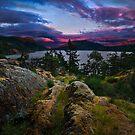 The Glowing Cloud by Thomas Dawson