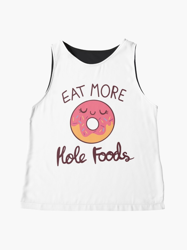 Alternate view of Eat More Hole Foods Sleeveless Top