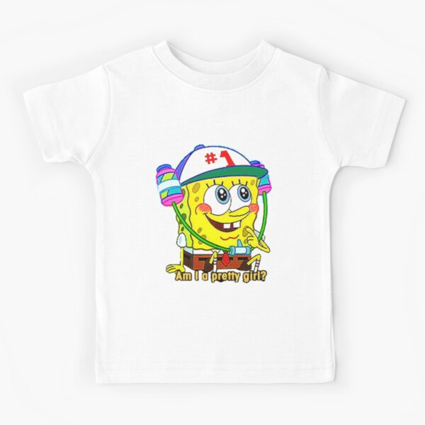 Bob l/'éponge Patrick Étoile face Youth Kids T-Shirt