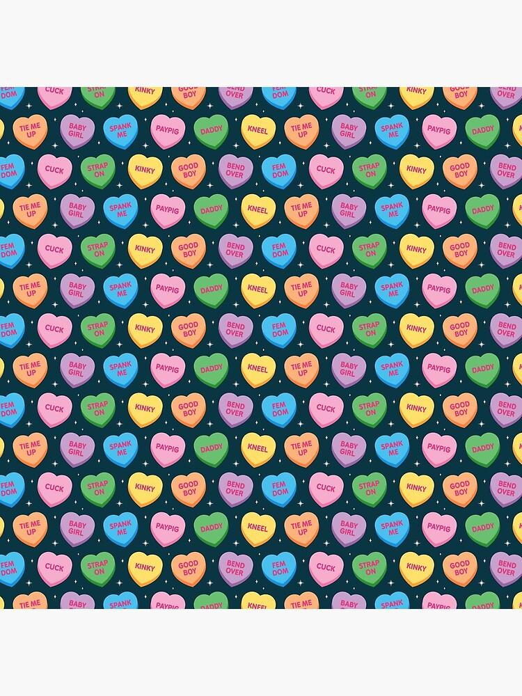 Kinky Candy Hearts by penandkink