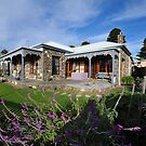 An Old Stone Cottage At Port Fairy. Victoria, Australia, by Ralph de Zilva