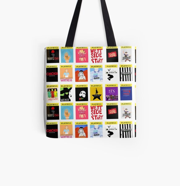 I Like Musicals All Over Print Tote Bag