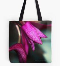 Drooping purple Tote Bag