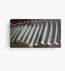 Chair Rack Metal Print