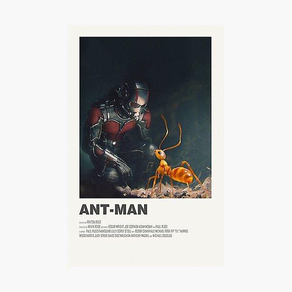 Ant-Man Alternate Movie Poster Photographic Print