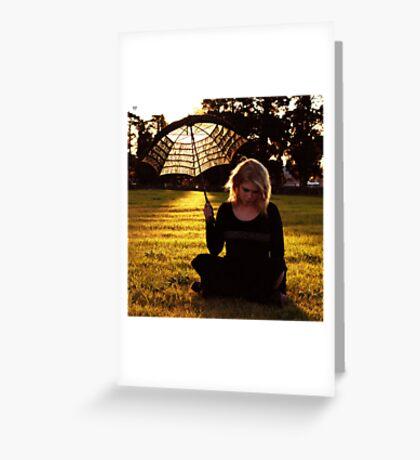 It will rain Greeting Card
