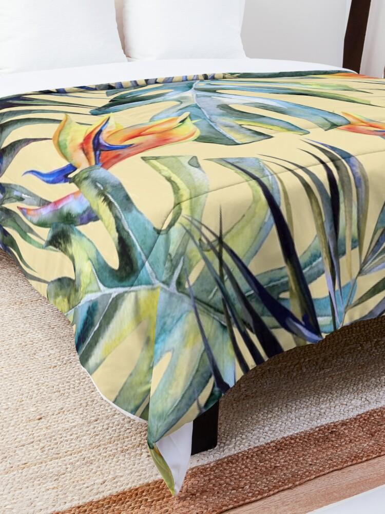 Alternate view of TROPICAL GARDEN 4 Comforter