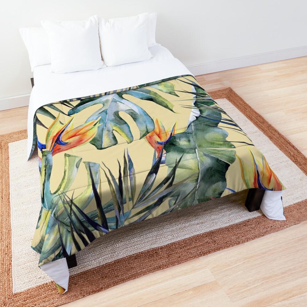 TROPICAL GARDEN 4 Comforter