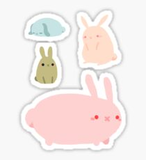 Bunny Sticker Sheet Sticker