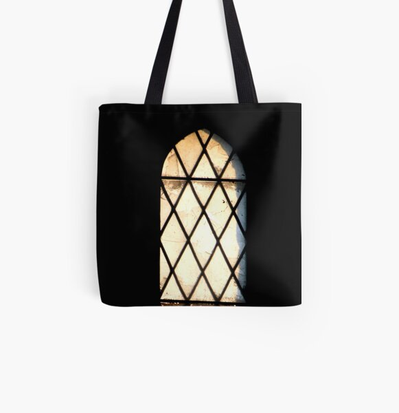 Abandoned window All Over Print Tote Bag