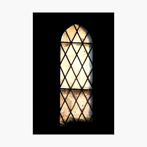 Abandoned window Photographic Print