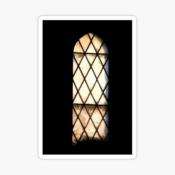 Abandoned window Sticker
