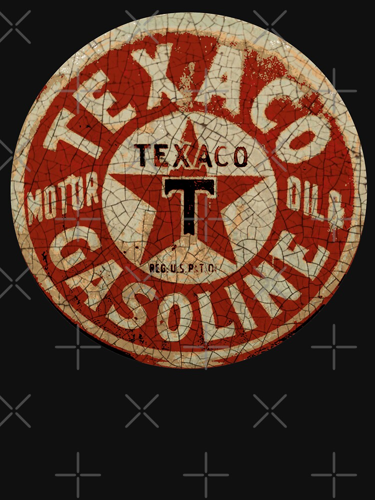 Texaco Oil And Gas USA by midcenturydave