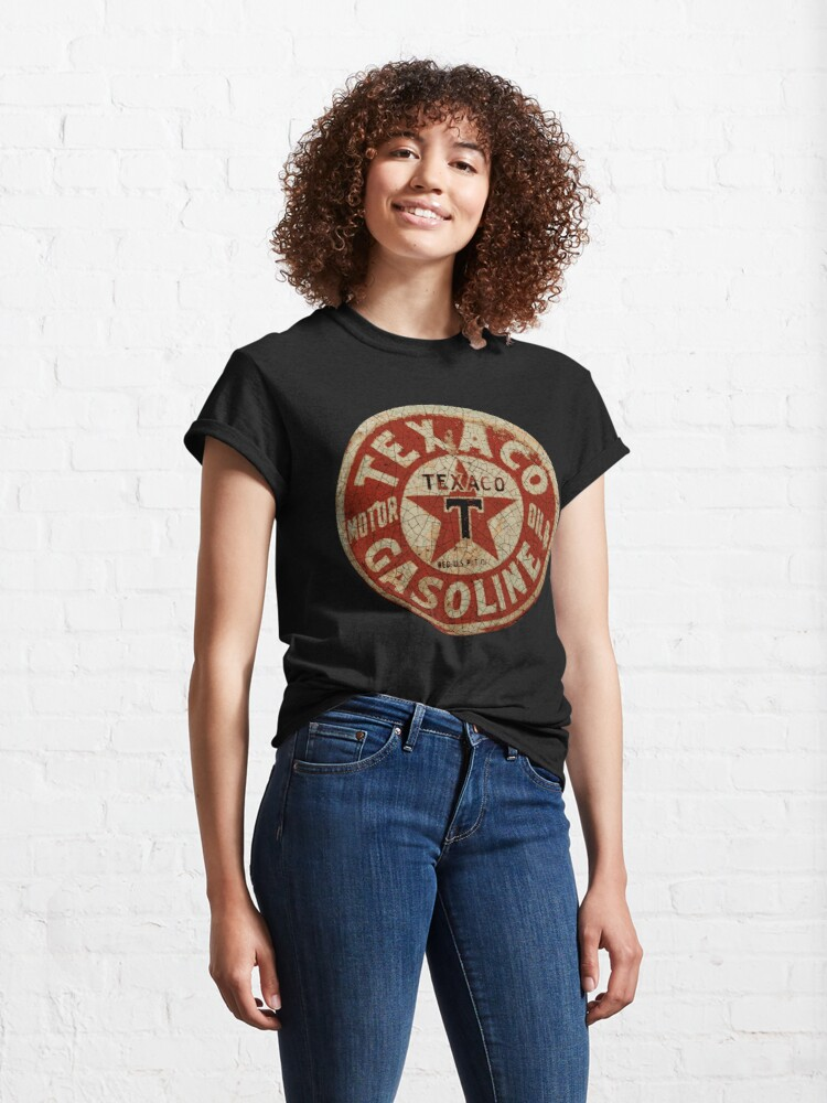 Alternate view of Texaco Oil And Gas USA Classic T-Shirt