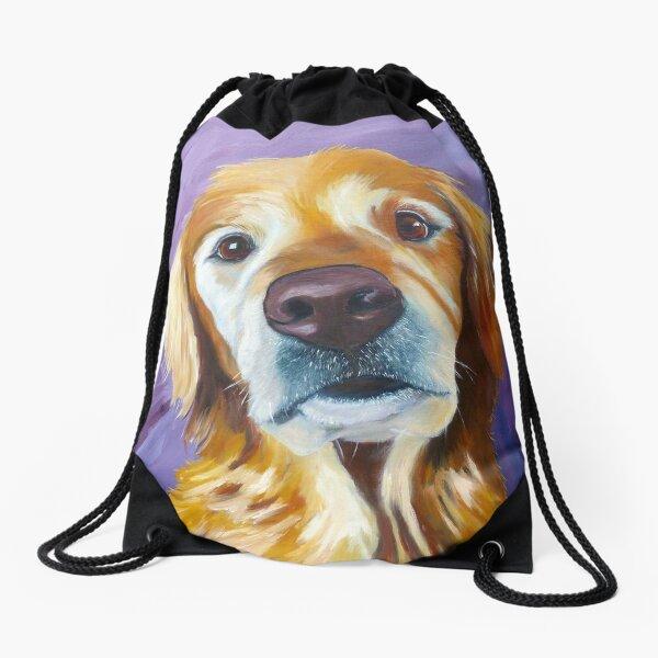 Golden Ellie Drawstring Bag