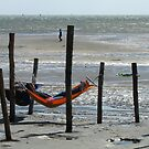 Oerol Festival ~ Relaxing at the 'Green Beach' by Hans Bax