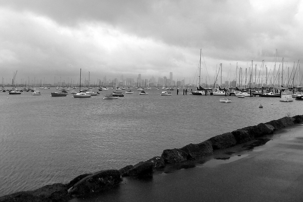 Williamstown - west of Melbourne VIC by Emmy Silvius
