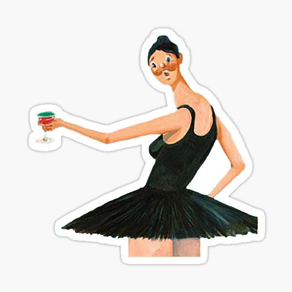 MBDTF Ballerina Dancer Sticker