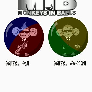 MIB - Monkeys In Balls by NateRainey