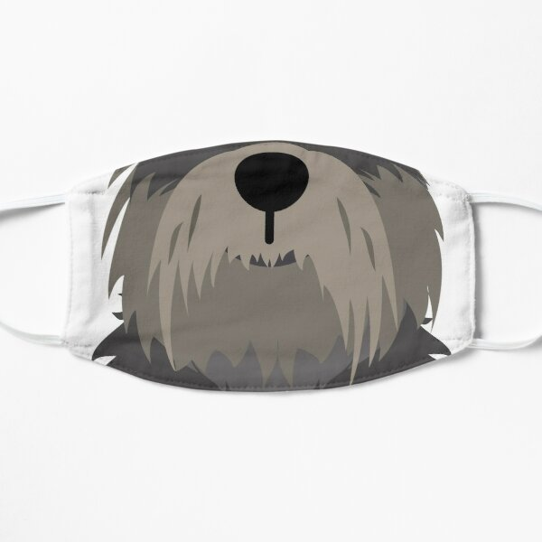 Schnauzer Dog Funny Face Mask Mask
