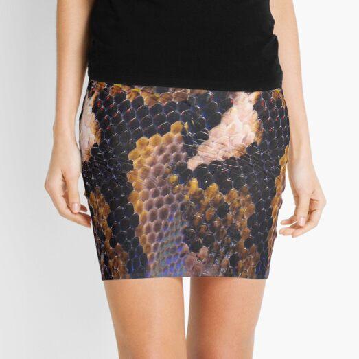 Snakeskin Landscape  Mini Skirt