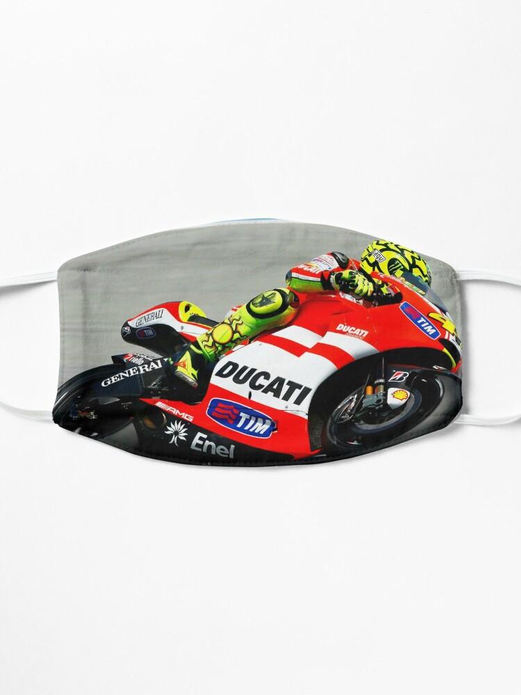 Masque ''Valentino Rossi sur sa Ducati': autre vue