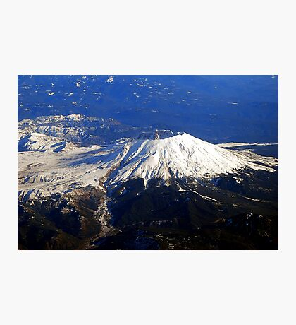 Fly By Mt.St. Helens Photographic Print