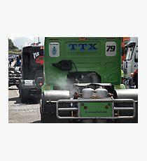 Trucks Photographic Print